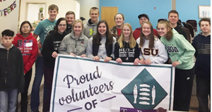Fulda FCCLA Members serve the community
